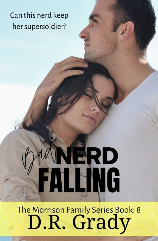 Book Cover: Bad Nerd Falling