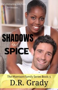 Book Cover: Shadows and Spice